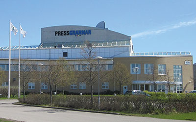 Pressgrannars modernaste tryckeri finns i Linköping