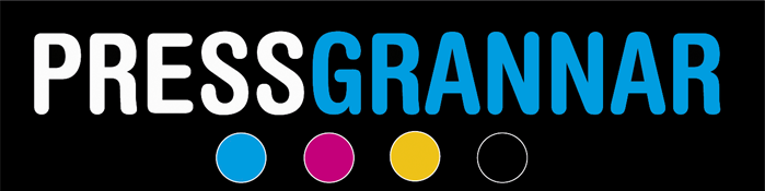 Tryckeri Pressgrannar Logotyp