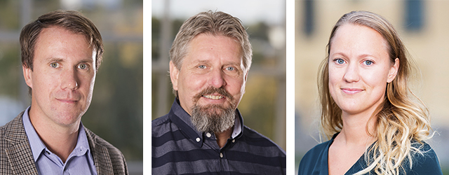 Våra skickliga projektledare Henrik Engström och Hans Karlsson