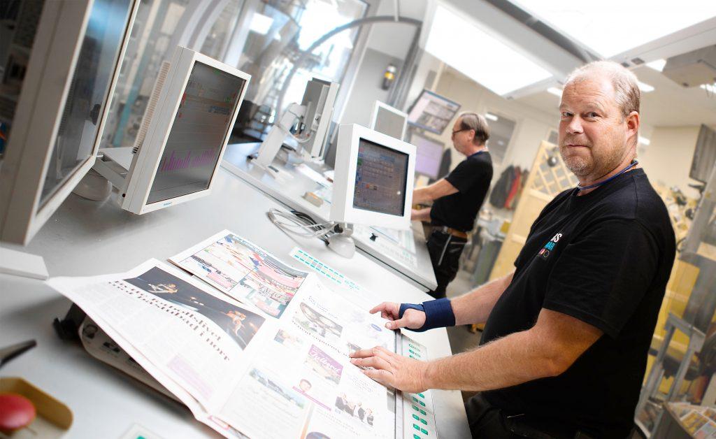 I Pressgrannars tryckeri ser vi till att trycka tidningar med hög kvalité